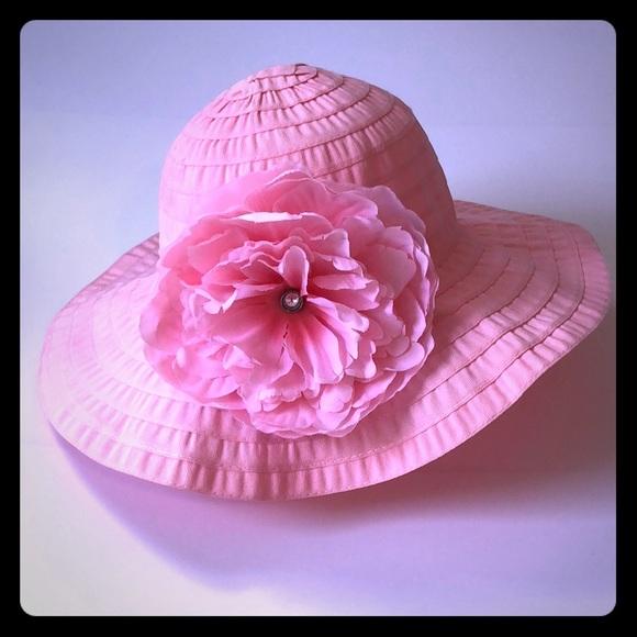 80509c57 Mud Pie Accessories | Mudpie Flower Sun Hat | Poshmark